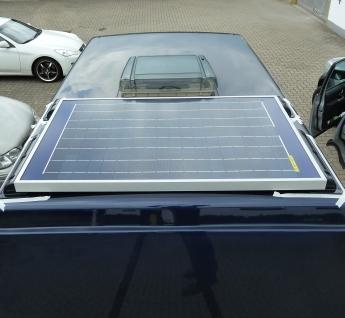 solaranlage 80w 80 watt komplett set passend f r ford. Black Bedroom Furniture Sets. Home Design Ideas