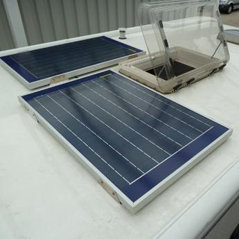 Wohnwagen solar nachrüsten